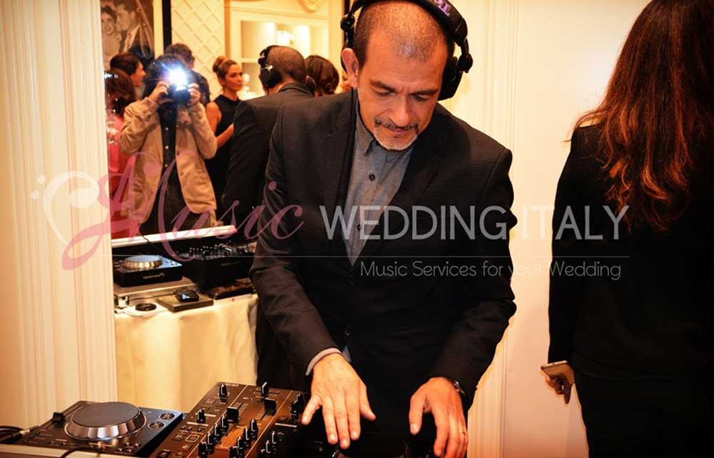 The Dj Gianpiero Fatica for opening inauguration in Rome, play the djset for Pronovias, global luxury bridal